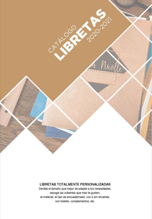 portada catalogo libretas 2020-2021