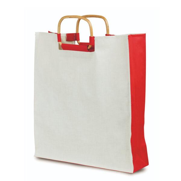 Bolsa Algodon Ecologico Alim Publicidad 091718 - rojo
