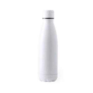 Botella de acero inox Alim Publicidad 126164 - blanco