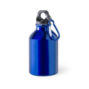 Botella de aluminio Alim Publicidad 124821 - azul