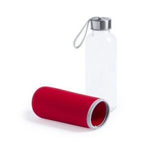 Botella de cristal Alim Publicidad 125513 - galeria rojo