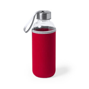 Botella de cristal Alim Publicidad 125513 - rojo