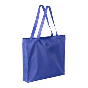 Bolsa plegable de poliéster ecológico Alim Publicidad 092629 - azul