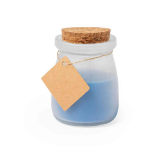 Vela Tarrito Cristal Alim Publicidad 126348 - azul