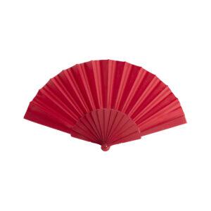 128096 Abanico Color Plastico Poliester Alim Publicidad 128096 - rojo