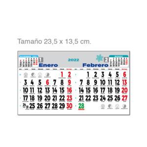 Faldilla bimensual castellano Alim Publicidad - F1