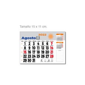 Faldilla mensual Alim Publicidad - F15