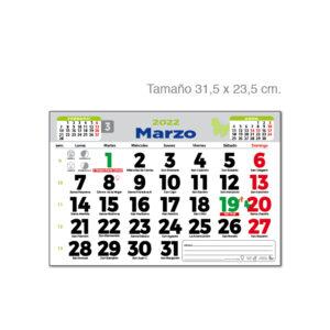 Faldilla mensual digital Alim Publicidad - F3D