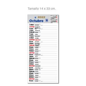 Faldilla mensual notas Alim Publicidad - F14