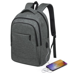 Mochila de Poliester 300D Seguridad RFID Alim Publicidad 126455 - gris