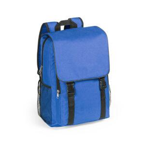 Mochila de Poliester con Solapa Alim Publicidad 124922 - azul