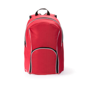 Mochila de Poliester con salida Auriculares Alim Publicidad 124735 - rojo