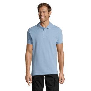 Polo Man Color Alim Publicidad 0811346 - azulcielo