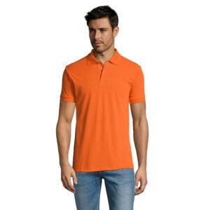 Polo Men Color Alim Publicidad 0800571 - naranja