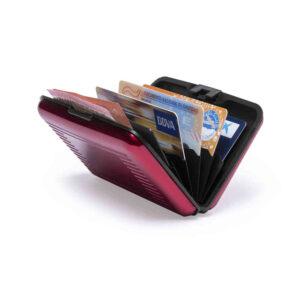 Tarjetero Seguridad RFID Aluminio Alim Publicidad 125371 - gal