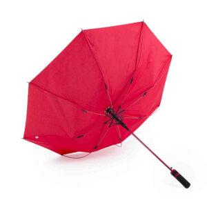Paraguas pongee 8paneles Alim Publicidad 125888 - invertido