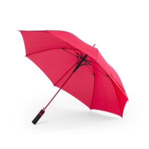 Paraguas pongee 8paneles Alim Publicidad 125888 - rojo
